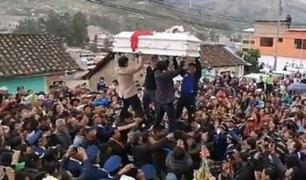 Andahuaylas: entierran restos de niñas asesinadas