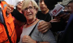 Susana Villarán: prisión preventiva será en penal Anexo Mujeres