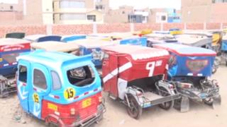 Surco: paraderos informales de mototaxistas generan caos vehicular