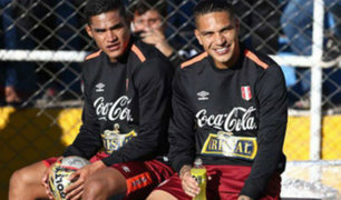 Anderson Santamaría: estoy contento que Paolo haya vuelto a las canchas