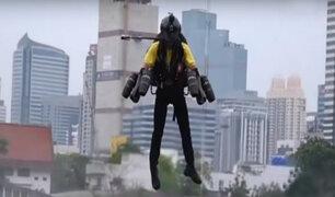 Increíble: Iron Man se pasea por las calles de Bangkok