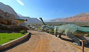 'Jurassic Park' en Arequipa cautiva a cientos de turistas