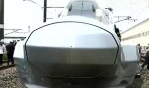 Japón probó su nuevo tren bala más rápido del mundo