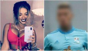 Shirley Arica comparte romántica foto junto a conocido futbolista peruano