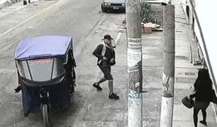 SMP: vecinos denuncian aumento de asaltos de delincuentes motorizados