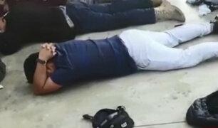 Huaura: detienen a sujetos con gran cantidad de armas