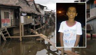 Equipo especial de la PNP intensifica búsqueda de niño desaparecido en Iquitos