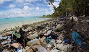 Australia: más de 200 toneladas de plástico halladas en una isla