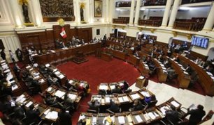 Congreso: aprueban dictamen que elimina la inmunidad parlamentaria