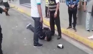 Iquitos: cámara registra persecución y captura de ladrones de casa