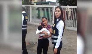 Surco: Policía determinó que delincuentes engañaron a niñera y secuestraron a bebé