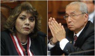Congresistas opinan tras denuncia de Zoraida Ávalos contra Pedro Chávarry