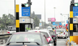 Continuidad de peajes se evaluará el lunes 20 por la Municipalidad de Lima