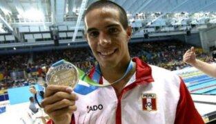 Confirman que Mauricio Fiol no participará en algunas pruebas de natación