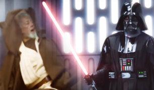 Star Wars: mira el espectacular remake de la lucha de Darth Vader y Obi-Wan Kenobi