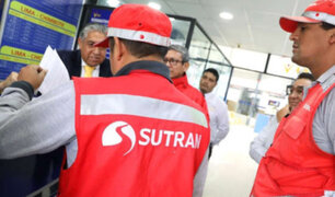 Transportistas informales agreden a inspectores de Sutran