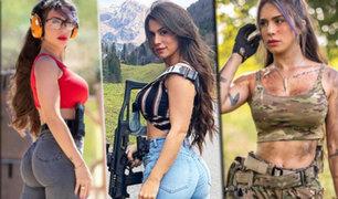 """La """"reina de las pistolas"""" israelí elogia la ley de armas estadounidenses"""