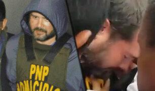 Acusado de triple homicidio en La Molina se desmayó cuando era trasladado a Fiscalía