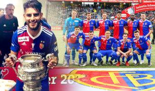 Peruanos en el extranjero: Carlos Zambrano se consagró campeón de la Copa de Suiza