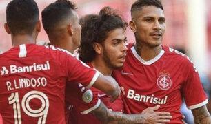 Paolo Guerrero: Internacional venció 2-0 a CSA por el Brasileirao