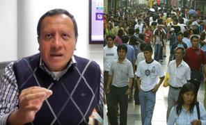 Rafael Hidalgo: Gobierno no tiene una política de empleo eficiente