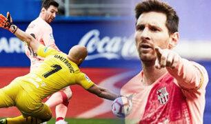 Lionel Messi alcanzó un récord histórico como el máximo anotador de la liga española