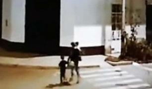 Pisco: delincuente asaltó a madre que llevaba a sus dos pequeños