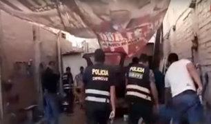 Puente Piedra: capturan a banda que desmantelaba autos robados