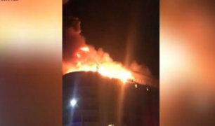 Uruguay: evacuan a más de 130 personas tras voraz incendio en hotel