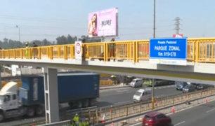 Rutas de Lima anunció que investigará caso de pareja que cayó tras ceder baranda de puente