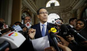 Parlamentarios cuestionan comportamiento del Presidente Vizcarra