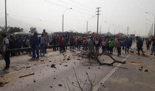 Huarochirí: cientos de vecinos protestan exigiendo obras a Sedapal