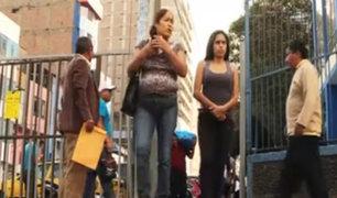 La Victoria: reabrió una de las calles que dan acceso a Gamarra