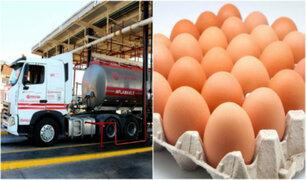 Hiperinflación en Venezuela: un huevo y 93.3 millones de litros de gasolina cuestan igual