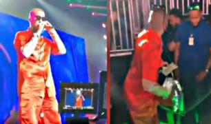 Bad Bunny regala dinero al público durante concierto