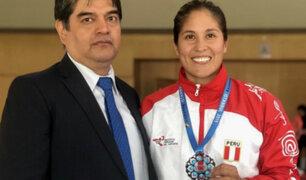 Alexandra Grande ganó medalla de plata en torneo de karate en Turquía