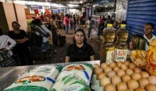 Recurren al trueque en medio de la crisis en Venezuela