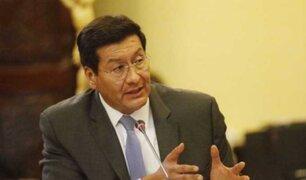 Ex ministro Paredes reconoce que hubo mafia en el MTC