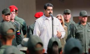 Venezuela: Maduro ordena capturar a cualquier 'traidor' en las Fuerzas Armadas