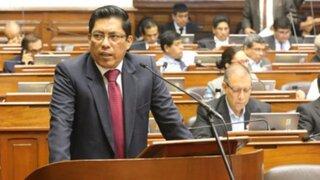 Ministro Zeballos: Proyecto de Ley sobre censura a Gabinete 'despierta preocupación'