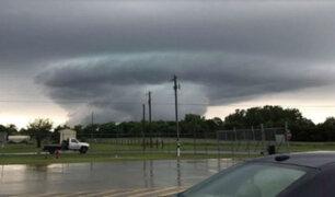EEUU: tormentas causan tornados y arrastran viviendas