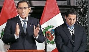 """Heresi se retracta tras acusar de """"tramposo"""" a presidente Vizcarra"""