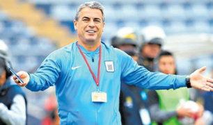 Pablo Bengoechea regresaría como DT de Alianza Lima