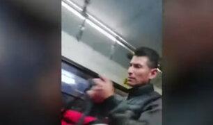 Liberan a sujeto que agredió a chofer del Corredor Azul por no detenerse en paradero informal