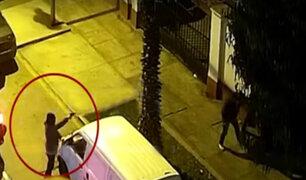 San Miguel: serenos frustran robo a transeúnte