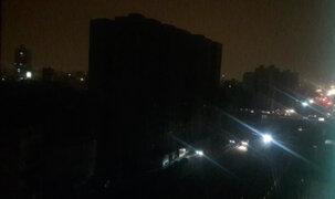 Reportan corte del fluido eléctrico en varias zonas de Lima y Callao