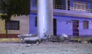 Callao: serios daños tras explosión de torre de alta tensión