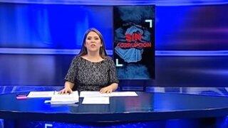 Pese a anuncio de suspensión se emitió programa de TV de Yeni Vilcatoma
