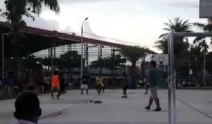 Iquitos: escolar murió cuando participaba en torneo de futsal