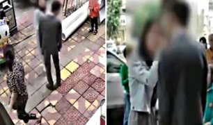 Mujer le propinó 52 cachetadas a su novio porque no le compró celular